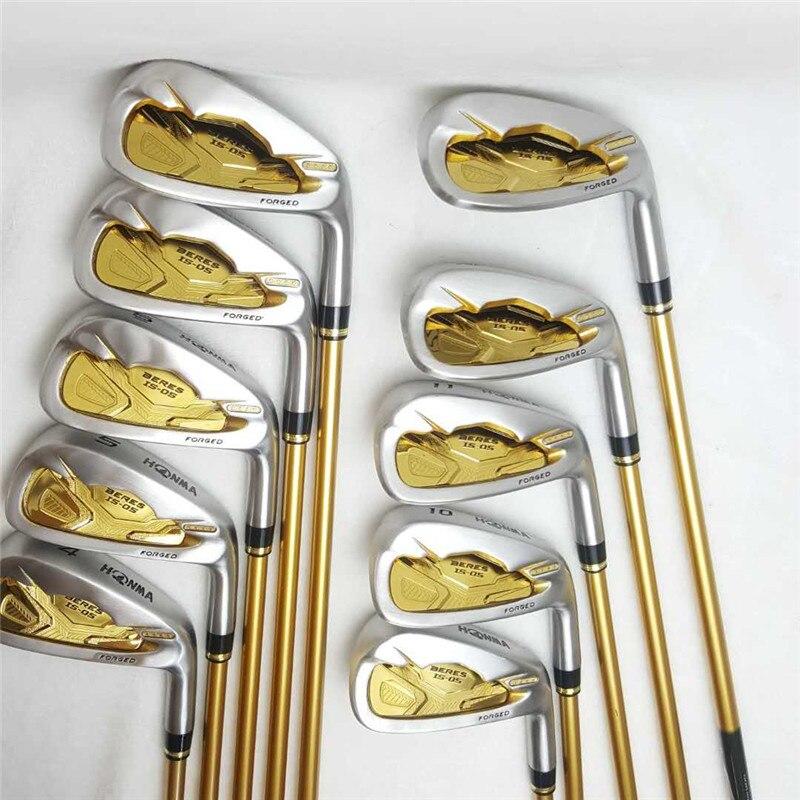 Nouveau Golf Fers HONMA S-05 4 Étoiles Golf Fers Ensembles 4-11.Aw.Sw (10 pièce) fer Clubs De Golf Golf Tige Livraison Gratuite