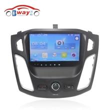 """Бесплатная доставка 9 """"Quad Core Android 6.0.1 Car DVD плеер для Ford Focus 2012 автомобилей GPS навигации Bluetooth, радио, Wi-Fi, DVR"""