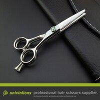 5.5 multi blade scissors hairdressing cutting shears barber set multi cut scissors japan hairstylist scissors chunking shears