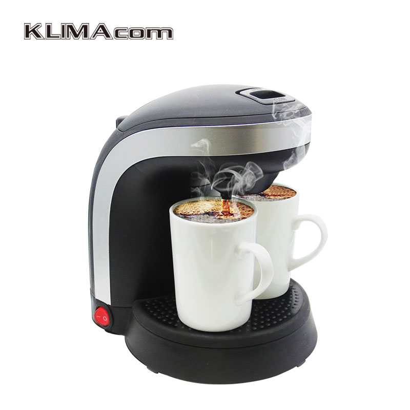 two ceramic cups coffee machine kitchen appliances small electric drip coffee makers. Black Bedroom Furniture Sets. Home Design Ideas