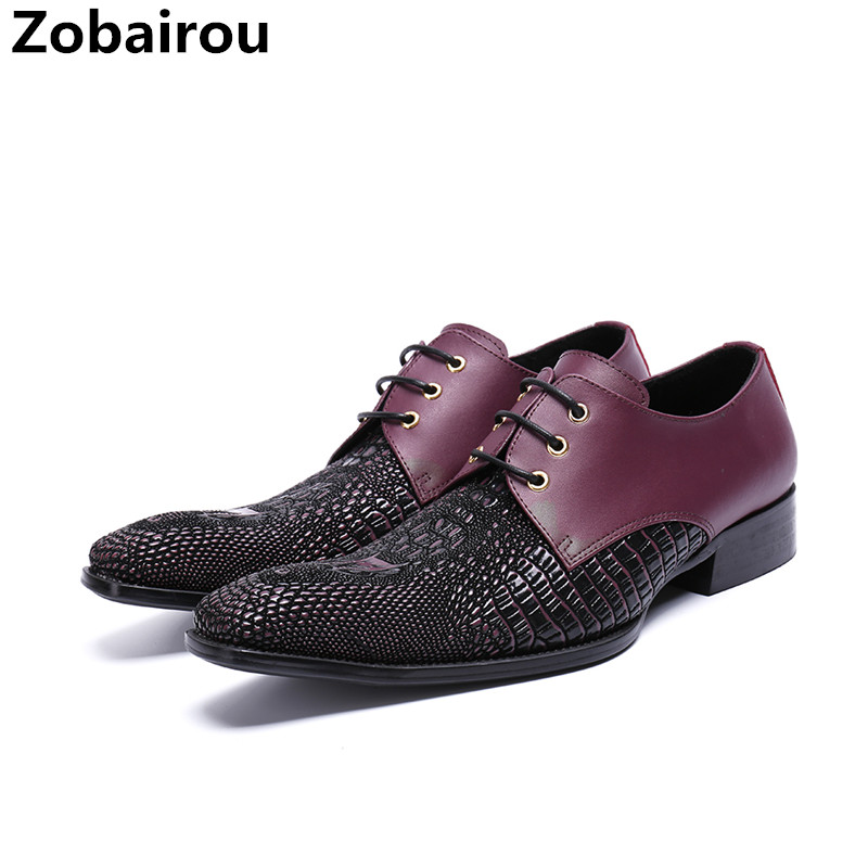 Zapatos hombre vestir genuine leather shoes men balck red dress wedding party oxford shoes for men office business formal maleZapatos hombre vestir genuine leather shoes men balck red dress wedding party oxford shoes for men office business formal male