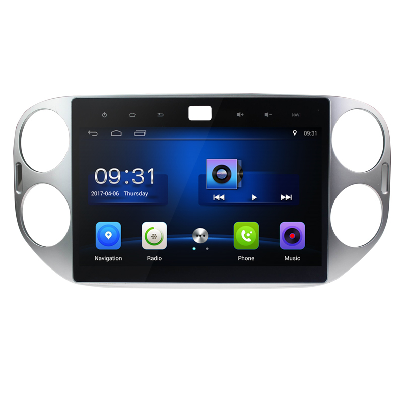 10.2 pouces 4G LTE Android 8.0! 1024*600 octa core voiture lecteur DVD multimédia Radio GPS pour VW Tiguan 2011 2012 2013 2014 2015 3G