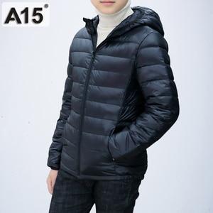 Image 4 - A15 Children Clothing Boys Winter Jacket 2019 Brand Hooded Kids Girls Winter Coat Long Sleeve Warm Parka Outwears Big 10 12 Year