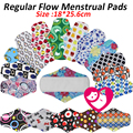 1PC Reusable Waterproof Regular Flow Menstrual Mama Cloth Pads Microfleece  Inside, Wholesale Selling washable menstual  pads