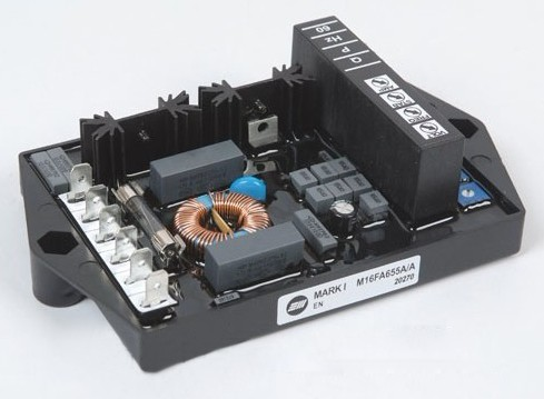 Generator Voltage Regulator Avr M16FA655A sx460 avr generator voltage regulator board black