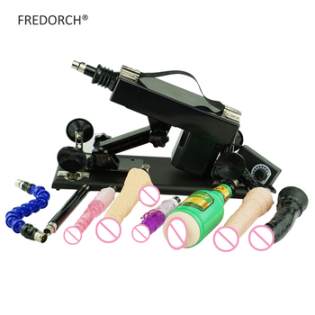 Automatic Sex Machine A2 with Flexible Dildos and Black Dildo and Male Masturbator Cup Love Machines gun for Women and Men