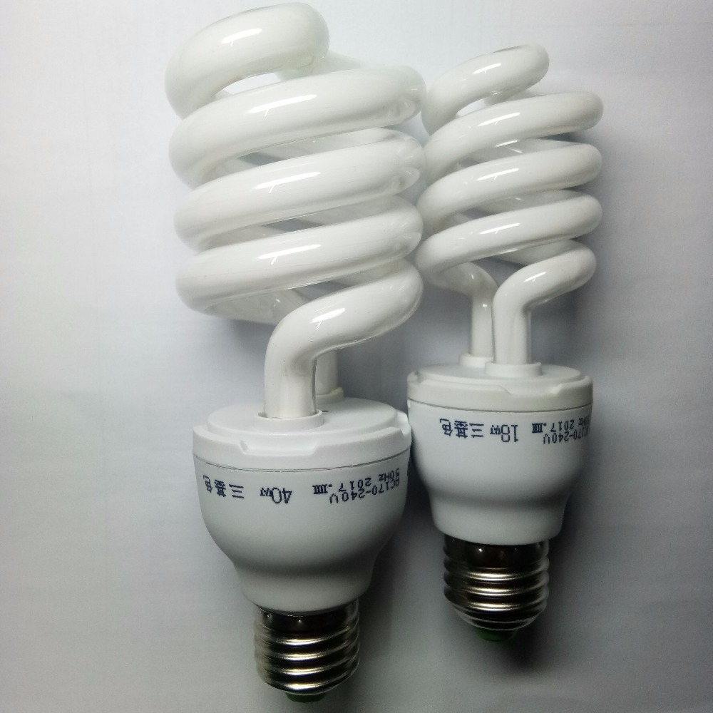 3 or 6 Daylight Quality Energy Saver Light Bulb Spiral Shape Bulbs E27 30W 12V