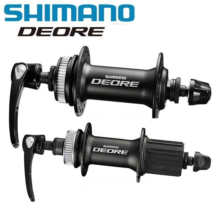 SHIMANO DEORE M615 32H Center Lock Bicycle Hub Front & Rear For SM RT54 RT30 Brake Disc Set MTB Mountain Bike Disc Brake Parts fidloc bicycle disc brake lock set blue