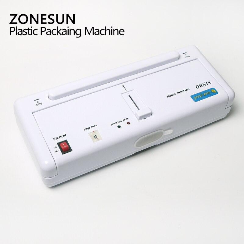 ZONESUN petite Machine d'emballage sous vide domestique pompe à vide Machine de conservation des aliments - 4
