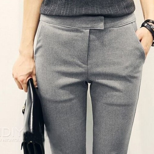 Popular Grey Dress Pants for Women-Buy Cheap Grey Dress Pants for ...