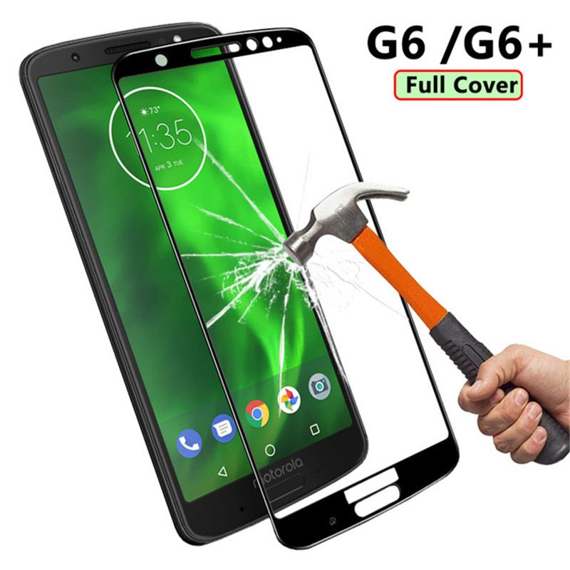 Full Cover Tempered Glass plus Screen Protector Motorola  1