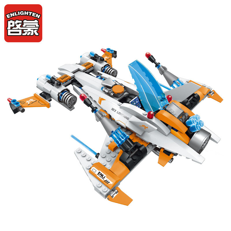 Enlighten Models Building toy Compatible with Lego E1615 478pcs Destroyer Blocks Toys Hobbies For Boys Girls Model Building Kits