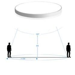 Радар человека Светодиодный индукции светодиодный потолочный светильник 12 Вт 18 5730SMD 220 В для лестниц и коридоров гараж балкон ультра тонкий