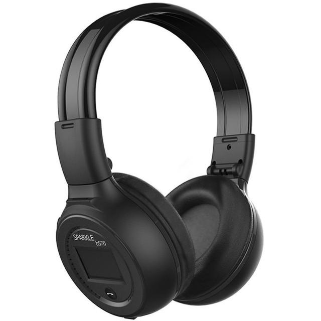 Nueva N65 auriculares Estéreo inalámbrico bluetooth para Auriculares auriculares auriculares Tarjeta SD/FM con Pantalla LCD se Divierten Los Auriculares con micrófono para teléfono