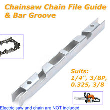 "1/4'' File Guide 3/8P"" Tool Chain Saw Chainsaw Medium-Carbon Steel 1pcs Durable Brand New Lightweight Practical(China)"