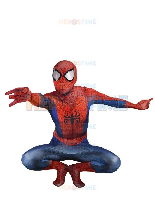 Ultimate Spiderman Kostyum Klassik Spandex Tam Superhero Spiderman - Karnaval kostyumlar - Fotoqrafiya 2