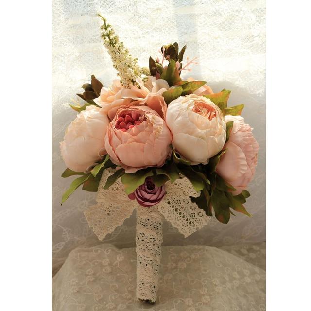 Artificial flower Wedding Bouquet Bouquet Bridal Bouquet Bridesmaid Wedding Decoration Event Party Supplies buques de noivas