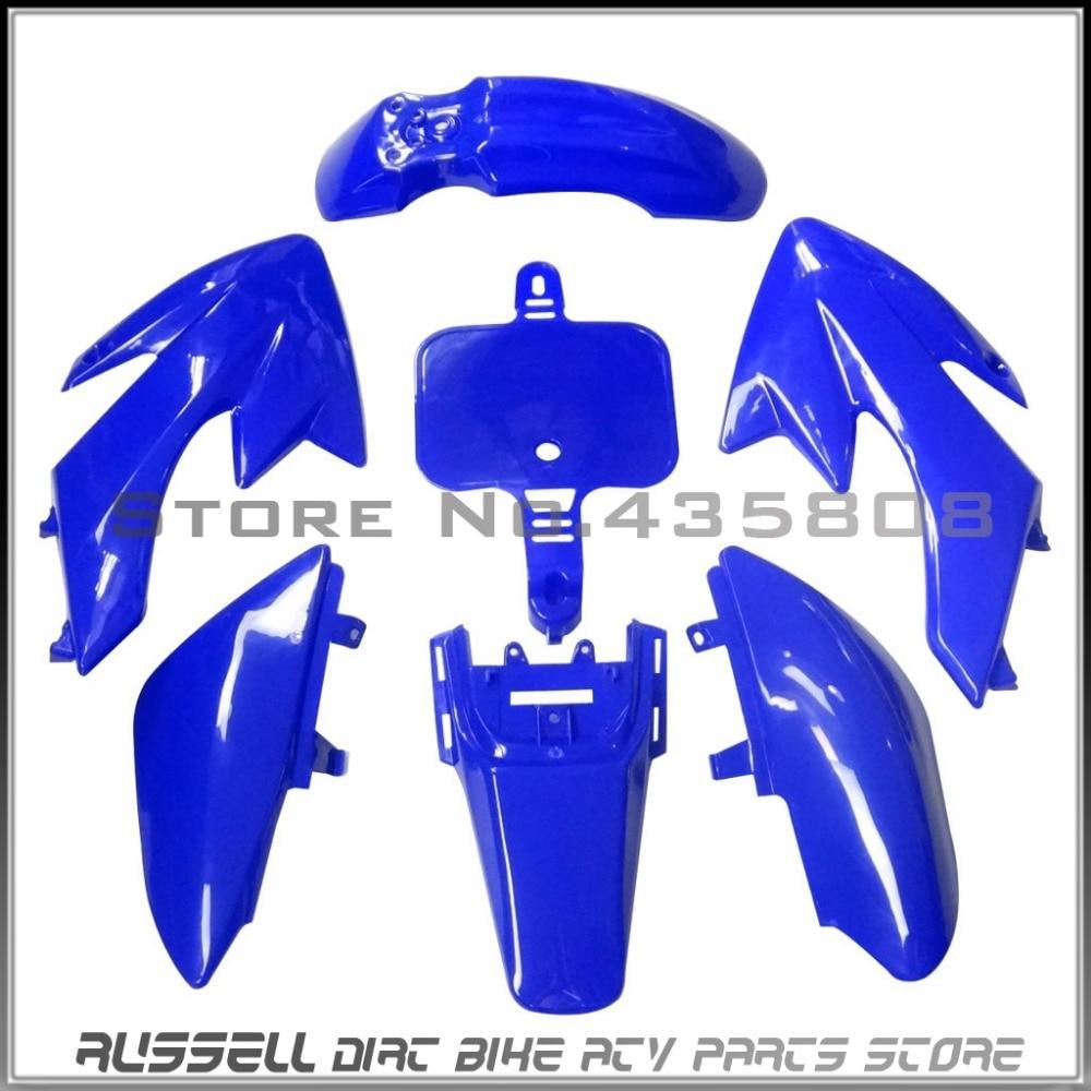Plastic Fender Fairing Tall Seat Fuel Tank XR 50 CRF50 125 SSR SDG 107 Pit Bike