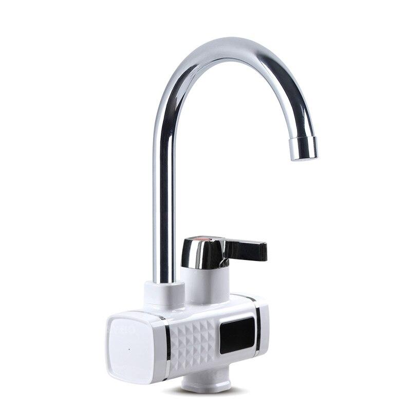 3000 W chauffe-eau électrique cuisine chauffe-eau instantané froid chaud Didital affichage robinet sans réservoir pour cuisine et salle de bain