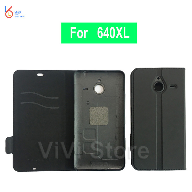sale retailer 5389b ee982 Genuine Mozo Flip Cover for Microsoft lumia 640XL PU Leather Folding  Protective Back Cover Case for Nokia lumia 640 XL -in Flip Cases from  Cellphones ...