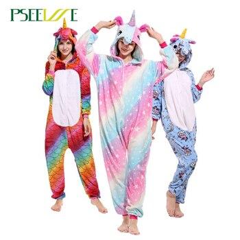 191ad181ad PSEEWE Anime conjuntos de pijama Onesie franela de invierno de los hombres  de las mujeres pijamas Animal puntada Totoro adultos ropa de dormir Cosplay  ...