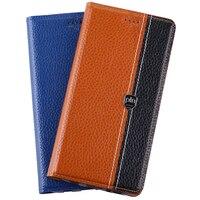 For Lenovo Vibe S1 Case Flip Stand Magnetic Cover Genuine Leather Mobile Phone Bag For Lenovo