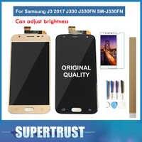 Original Amoled pour Samsung Galaxy J3 2017 J330 J330FN SM-J330FN écran LCD avec capteur tactile verre numériseur assemblée avec kit