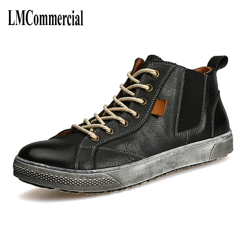 men Martin retro leather boots shoes autumn winter British retro men shoes breathable  fashion boots men casual shoes 2017 new spring british retro men shoes breathable sneaker fashion boots men casual shoes handmade fashion comfortable breathabl