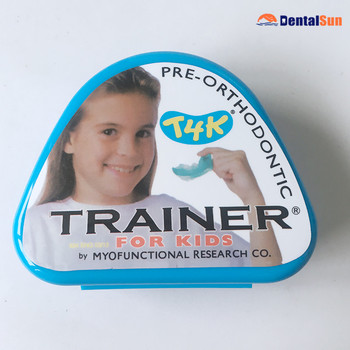 Dental Material Orthodontic Appliance Trainer/Australia MRC T4K Phase I Soft Trainer/Orthodontic Trainer T4K Blue