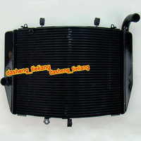 Motorcycle Aluminum Radiator For Honda CBR 600RR 2007 2008 2009 2010 F5, Spare Parts and Accessories, Black Color