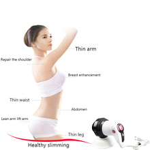 Multi-function electric massage hammer vibrator massage cervical spine waist shoulder leg massage equipment