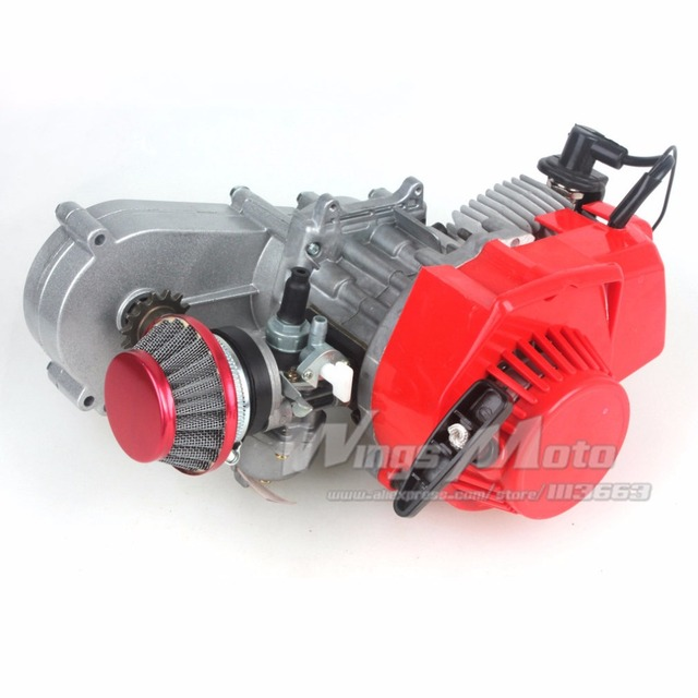 47cc 2 Stroke Engine With T8f 14t Gear Box Easy To Start Pocket
