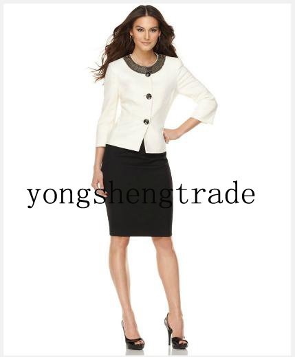 Aliexpress.com : Buy Designer Women Suit Three Quarter Sleeve ...
