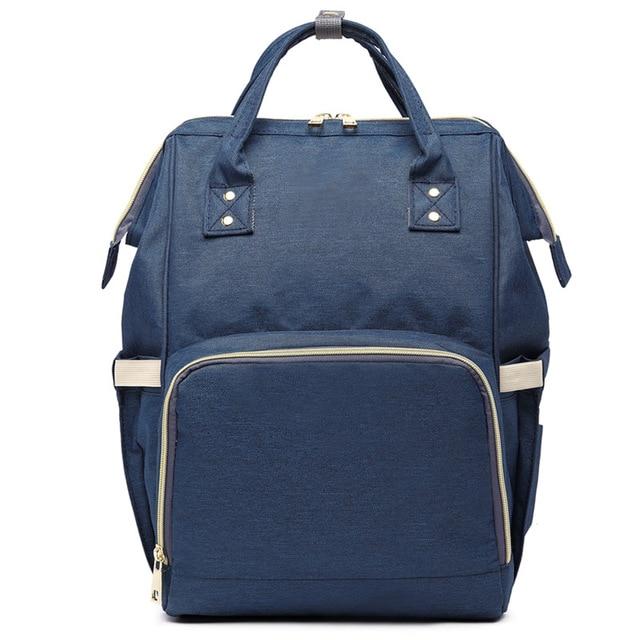 مون بيفي موضة المومياء الأمومة حقيبة الحفاض سعة كبيرة حقيبة الطفل حقيبة السفر Desinger حقيبة التمريض لرعاية الطفل