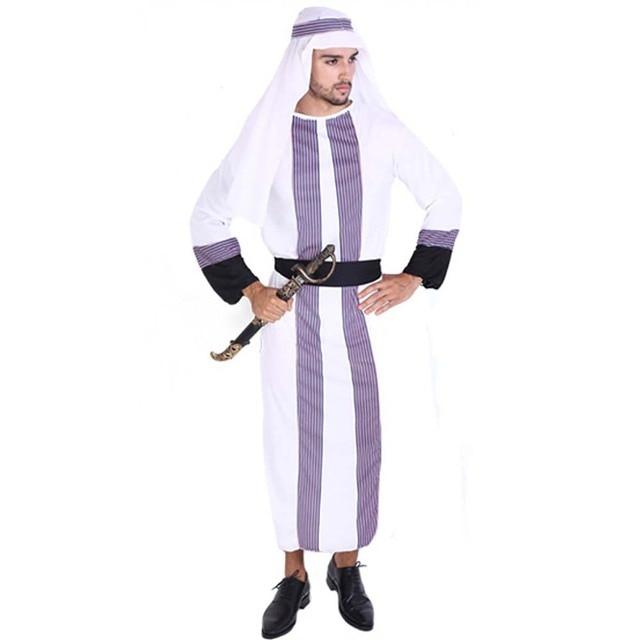 Adult Arab Sheik Costume Desert Prince Costume Dress Up Arabian Long Robe Prince of Persia Fancy  sc 1 st  AliExpress.com & Adult Arab Sheik Costume Desert Prince Costume Dress Up Arabian Long ...