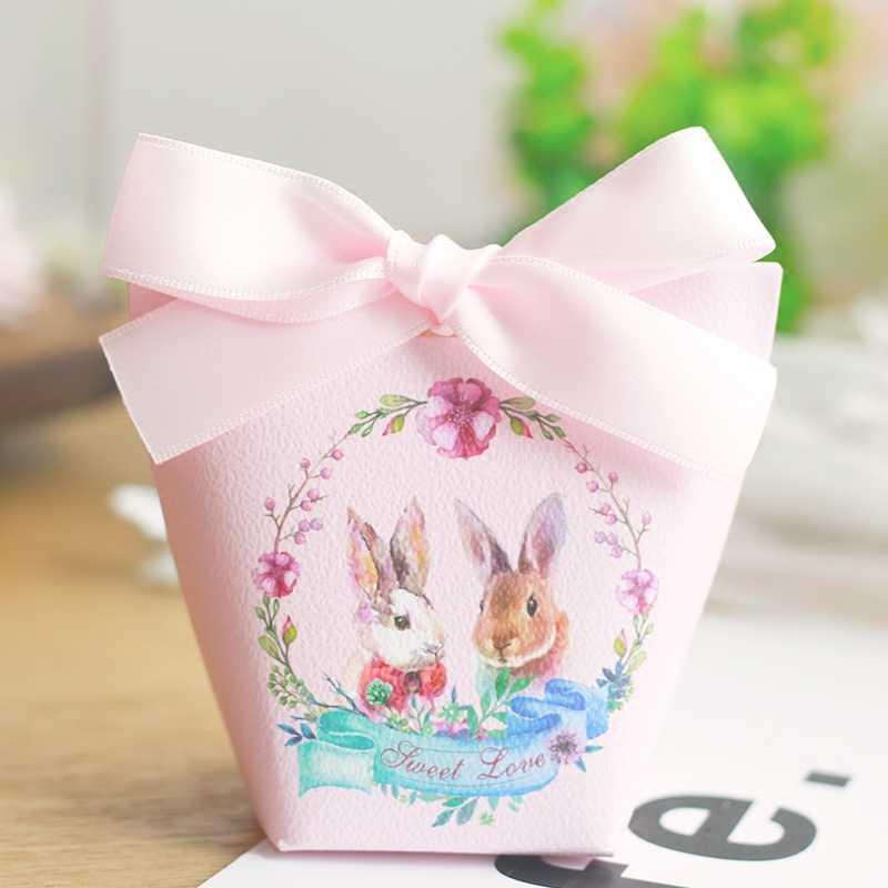 YOURANWISH 20 шт коробка со свадебными сувенирами и подарками пасхальное праздничное украшение бумажные подарочные коробки Детские мешки для душа