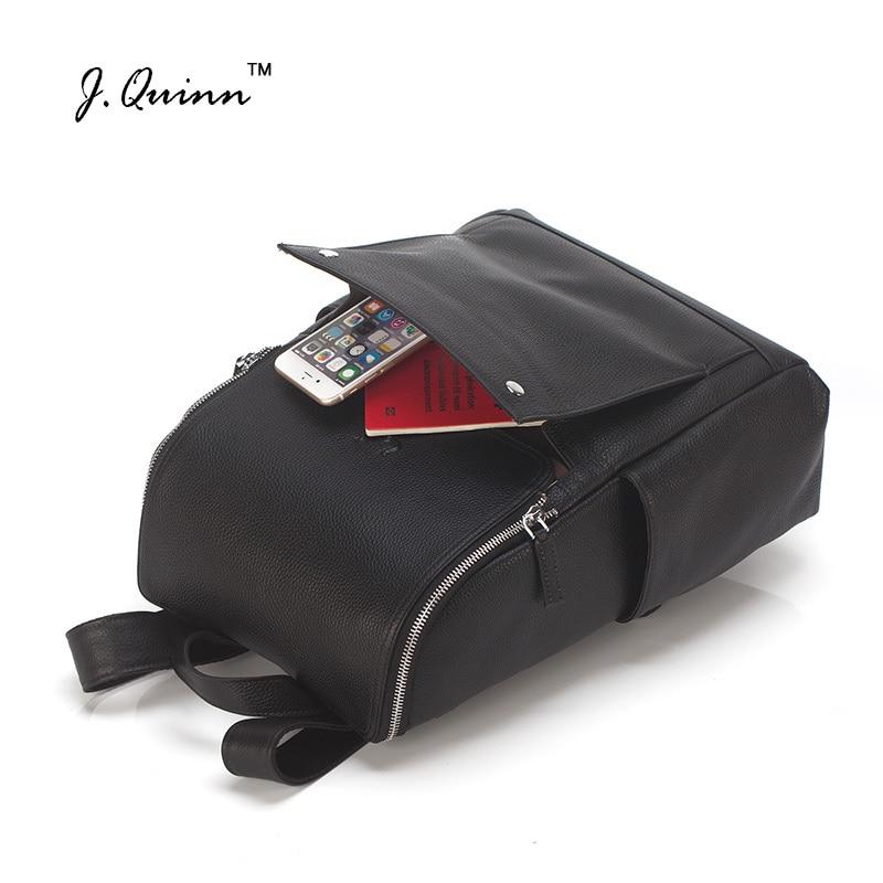 Neue Mädchen Mode Rucksack Rucksäcke Notebook Echtem Aus Stilvollen Frauen Logo Reisetasche Quinn Schulter Leder J Weiblichen No q8U64q