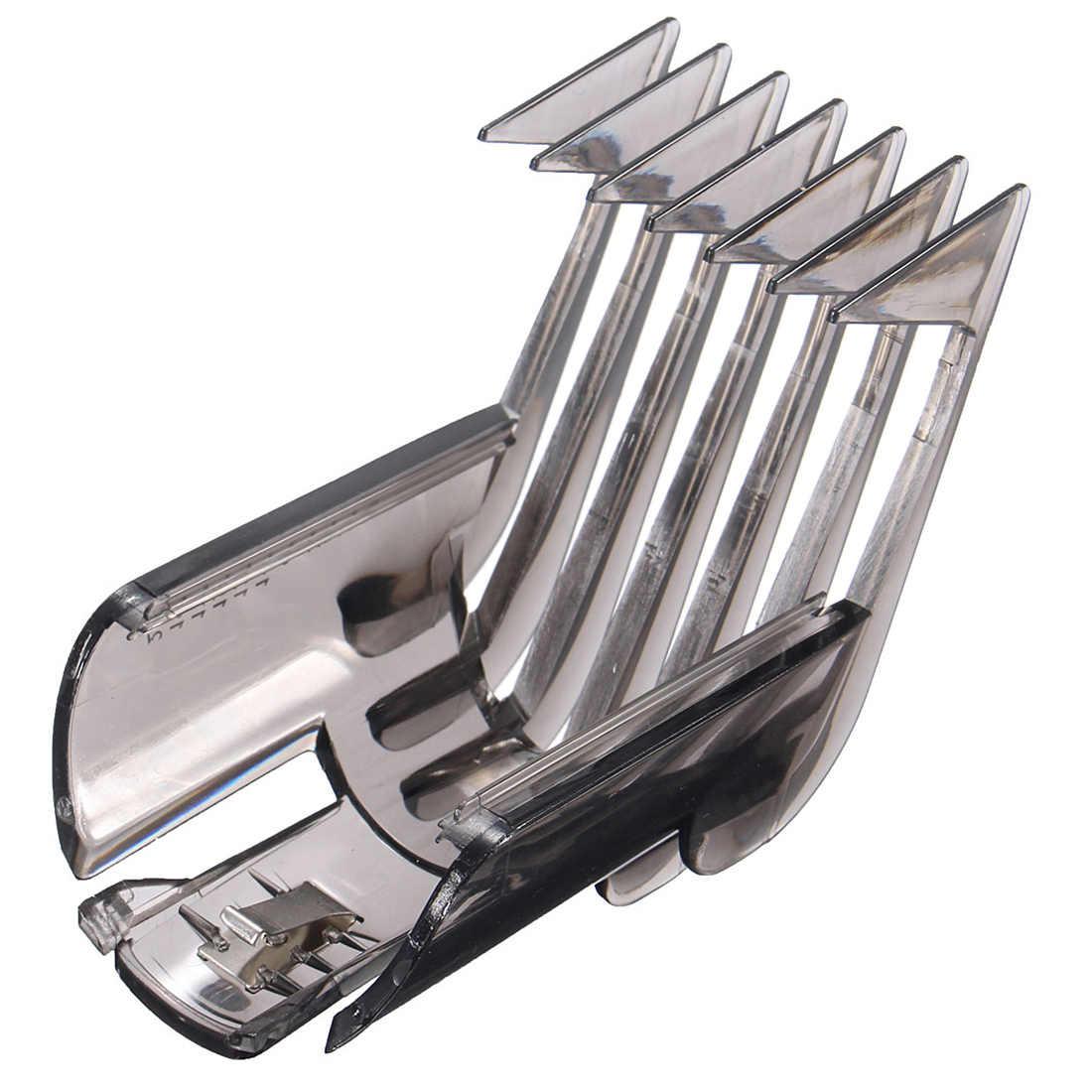 Cortador de cabelo aparador de barba navalha guia pente ferramentas de fixação para philips qc5130/05/15/20/25/35 3-21mm ajustável profissão