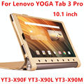 Case For Lenovo Yoga Tab 3 Pro Protective Smart cover Leather Tablet For YOGA YT3-X90F X90L X90M 10.1 inch PU Protector Sleeve