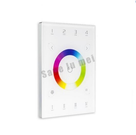 LTECH DC5V UX8 LED RGBW contrôleur d'écran tactile gradateur 2.4 Ghz RF DMX512 sortie livraison gratuite