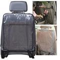 Pvc transparente accesorios bebé niño anti kick mat asiento trasero del coche de protección cubierta lámina protectora forro auto vehículo estera