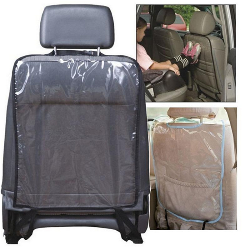 Transparent PVC Accessories Baby Boy Toddler Anti Kick Mat Car Back Seat Protection Cover