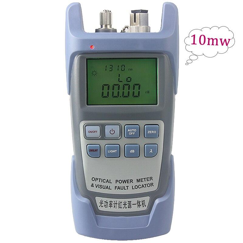 5 PCS/Pack 10 mW compteur de puissance optique à fibre de poche 10 mW source de lumière rouge localisateur de défaut visuel testeur de câble à Fiber optique Promotion