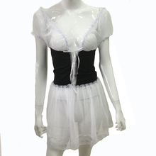 Sexy lingerie hot Perspective gauze lace Slim SM cosplay
