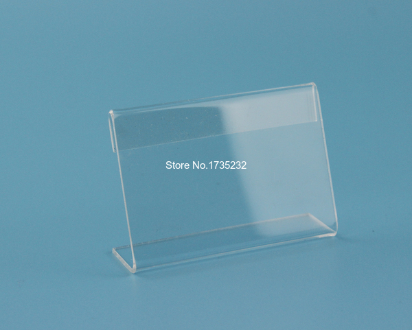 6 9cm Acrylic Price Tag Name Card Table Advertisement