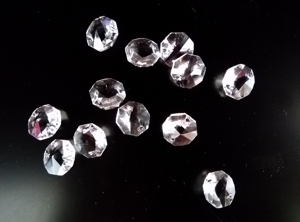 Neue Top qualität 1000 STÜCKE 14 MM Kristallglas Perlen Für Hochzeit Weihnachtsbaum Dekorationen Kronleuchter Baby Zimmer-in Künstliche & getrockneten Blumen aus Heim und Garten bei  Gruppe 3