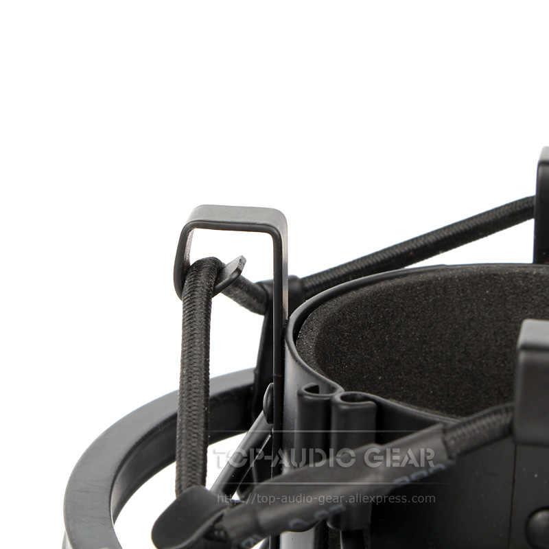 Pince de fixation de choc de Suspension de Microphone Spider de qualité pince de support de micro antichoc pour NEUMANN TLM102 TLM 102 U 67 U67 ensemble Mike