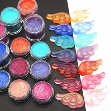 Laser Resin Pigment Colorants Suspended Glitters Epoxy Mold Jewelry Making
