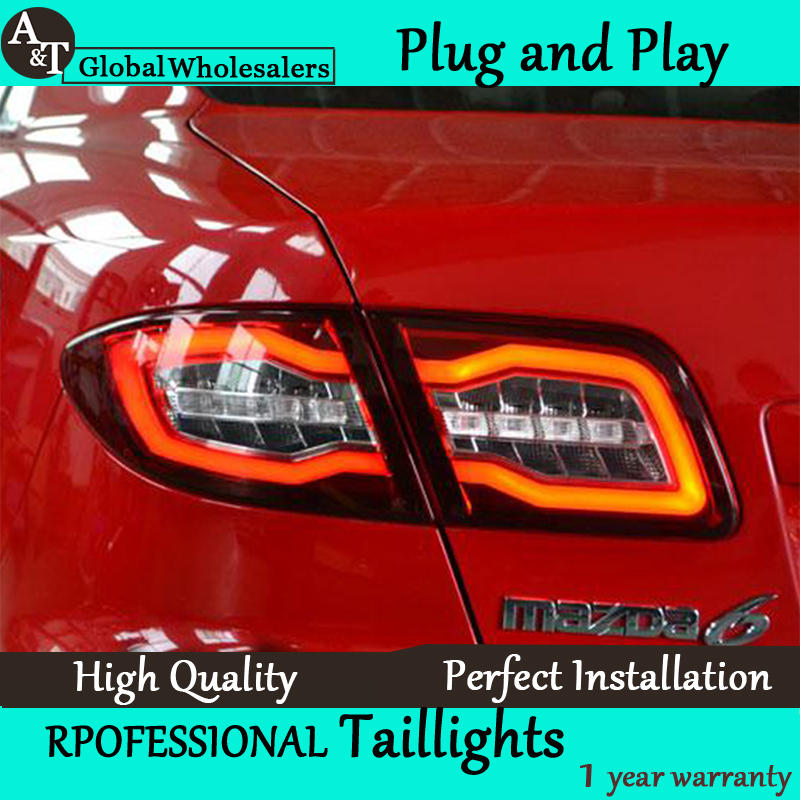 Car Styling For Mazda 6 Taillights 2004 2013 Mazda6 Classic Led Tail