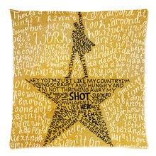 Hamilton Broadway Musical Decorative Cushion Cover Cotton Linen Sofa Throw Pillow Case 2016 Custom Cojines 18″X18″